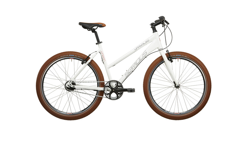 Serious Unrivaled 8 Stadsfiets wit